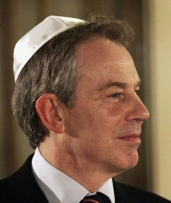 Photo of Tony Blair'in Gazze'ye gittiği bildirildi