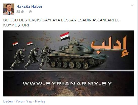 "Photo of ""Haksöz haber'in Facebook sayfasını hacklediler"""